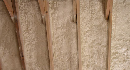 closed-cell spray foam for Hamilton applications